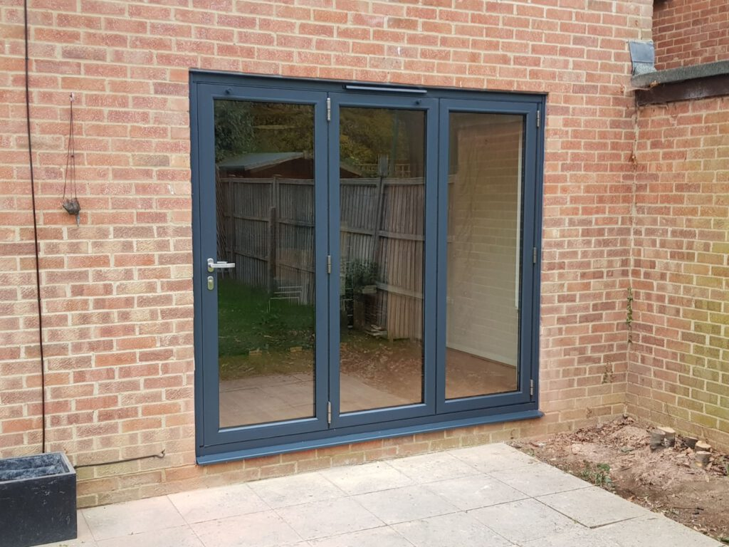 BIFOLDING AND SLIDING DOORS IN DATCHET