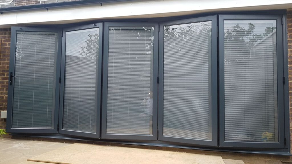 Origin bifolding doors in Cobham
