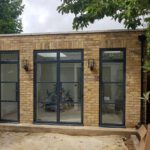 Steel look patio doors in Wandsworth
